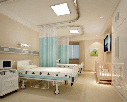 ساخت و تجهیز مراکز درمانی